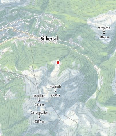 Karte / Innerkapellalpe