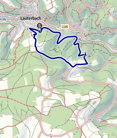 Karte / Zur Bergkapelle