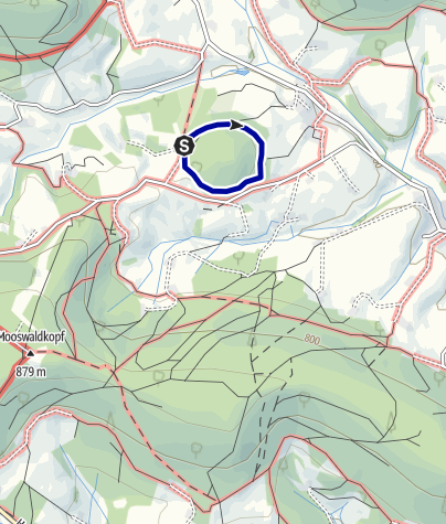Karte / Yoga-Natur-Pfad Lauterbach