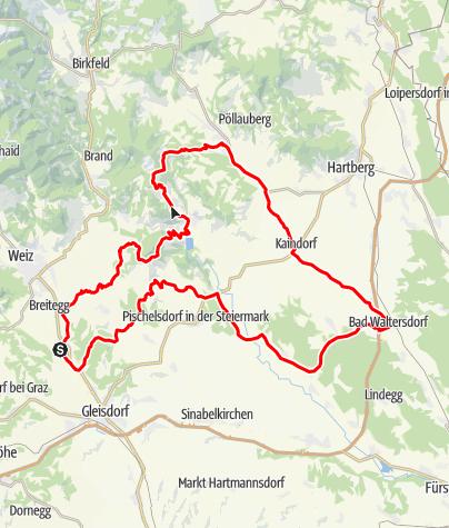 Karte / Apfelland & Pöllauertal Tour