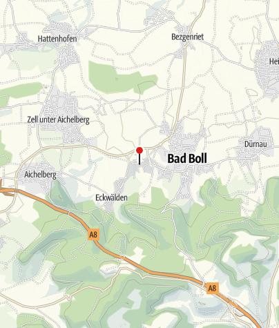 Karte / Badhaus Bad Boll