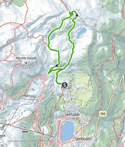 Map / Hike of Nature and Alpine Farming