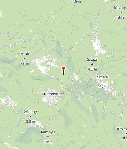 Mapa / Kilátóhely (Piszkés-legelő)