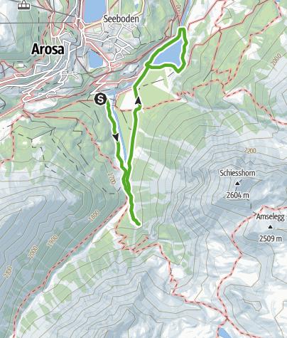 Map / Naturkundlicher Wanderweg Isel