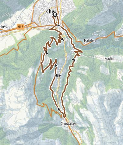 Map / 255: Brambrüesch-Tour