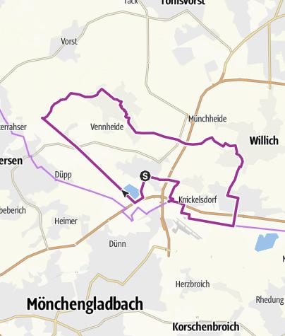 Karte / Will-ich kennenlernen     Willich-Anrath-Neersen-Schiefbahn