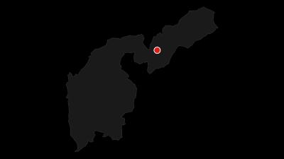 Karte / Route durch das Naturreservat Laghestel