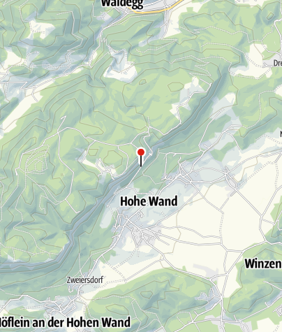 Karte / Zeltplatz Hohe Wand Blick – Camp