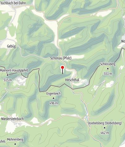 Karte / Bruderfelsen