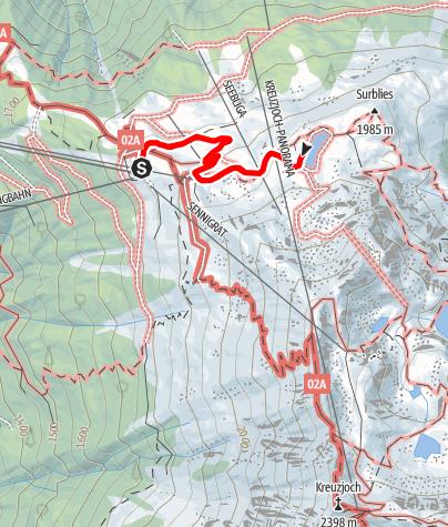 Map / Zum Seebligasee