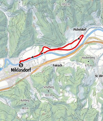 Karte / Silbersee Runde