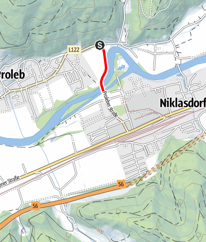 Karte / V4 - Panoramatafel Kletschach/Proleb - Brücklfeld Runde
