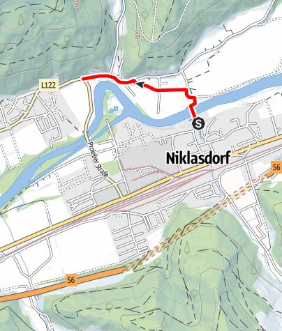 Karte / V3 - Panoramatafel Kletschach/Proleb - Panoramatafel Freibad