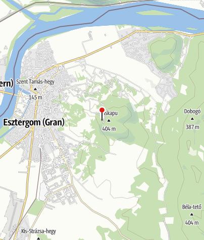 Karte / Vaskapu Brilli Gyula Menedékház