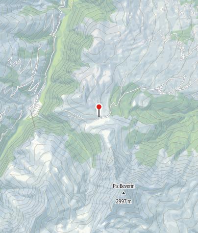 Karte / Berggasthaus Beverin