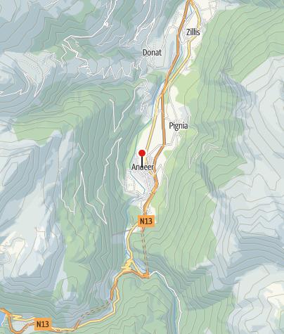 Map / Hotel Weisses Kreuz
