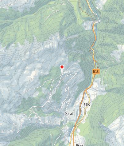 Karte / Bergrestaurant Orta