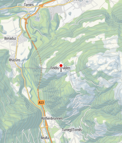 Karte / Gasthaus Wildenstein