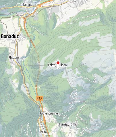 Cartina / Albergo Wildenstein