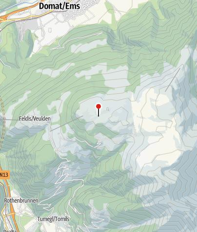 Karte / Skihütte Feldis