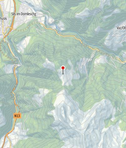 Map / Gasthaus Post, Obermutten