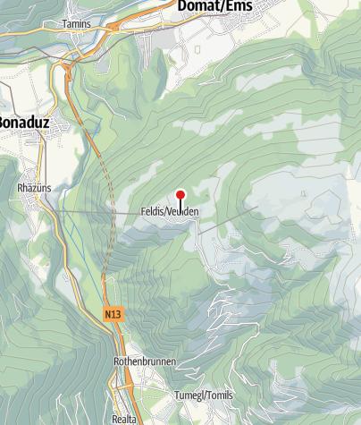 Cartina / Albergo di montagna Sterna