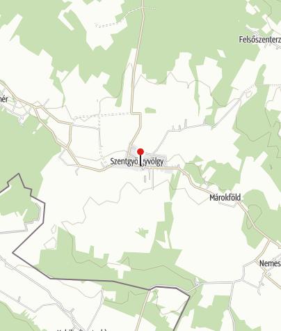 Mapa / Szentgyörgyvölgy Vendégház