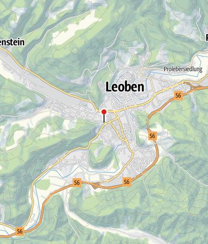 Karte / Hervis Bewegungsarena Leoben - Volks- & Hauptschule