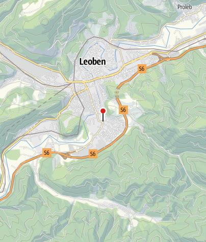 Karte / Hervis Bewegungsarena Leoben - Gösser Platz