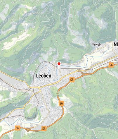Karte / Hervis Bewegungsarena Leoben - Nordtangente