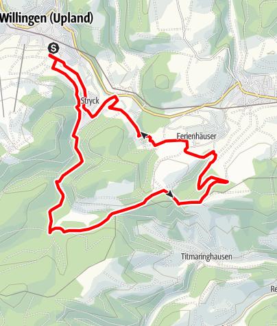 Karte / Kid´s MTB Netz Hasen Runde (rot)