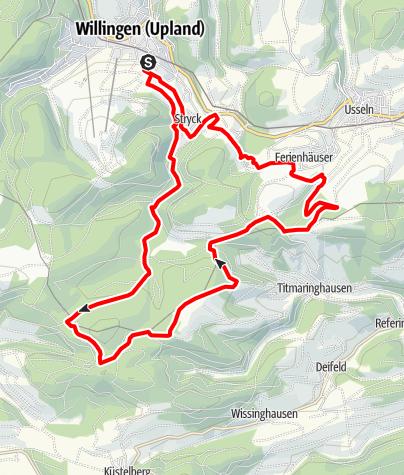 Karte / Kid´s MTB Netz Hasen Runde (schwarz)