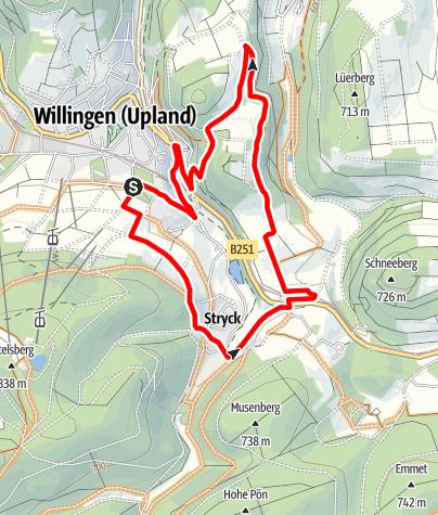 Karte / Kid´s MTB Netz Bären Runde (schwarz)