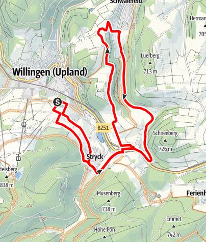 Karte / Kid´s-MTB Netz Bären Runde (rot)