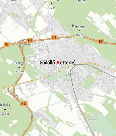 Mapa / Református templom - Gödöllő