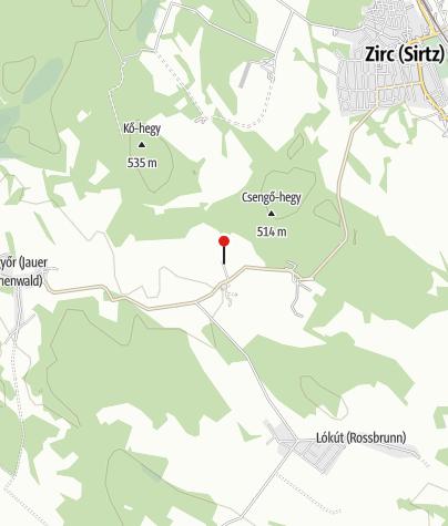 Térkép / Bakonyszíve Vendégház