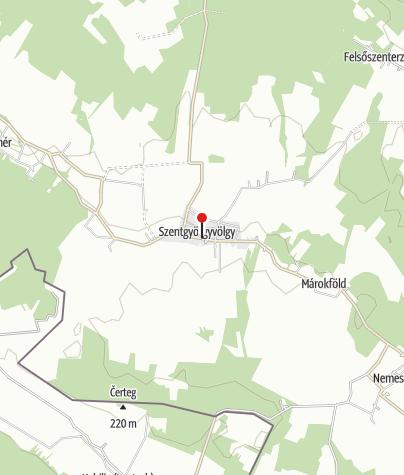 Mapa / Kerékpár Pont (Szentgyörgyvölgy Vendégház)