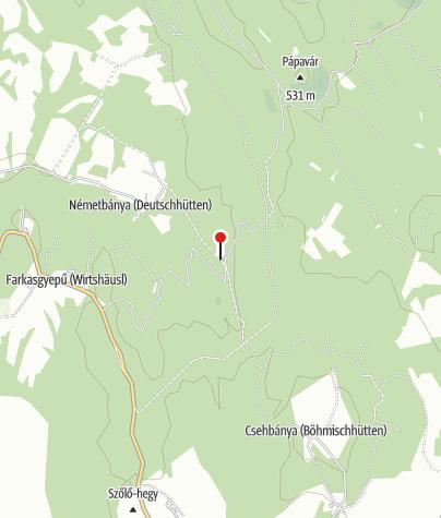 Térkép / Németbányai vendégház