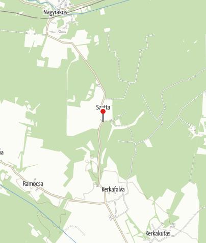 Map / Kéknefelejcs Vendégház
