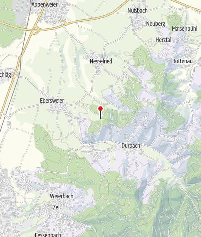 Karte / Maiglöckchenhütte