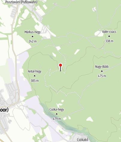 Mapa / Vértes Ifjúsági Tábor