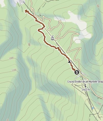 Hartă / Straja Baloo Flow Trail (Telegondola serviced)