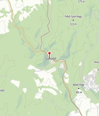 Mapa / Öko-Park Panzió, Kemping és Kalandpark