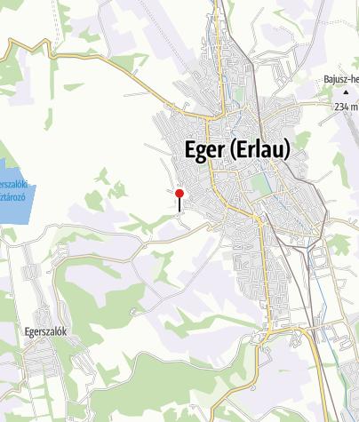 Mapa / Hotel Ködmön