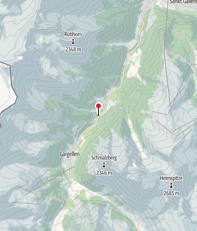 Karte / Fidelis- und Sarotlaquellen