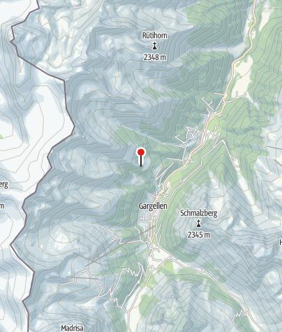 Karte / Maisäß und Alpe Röbi