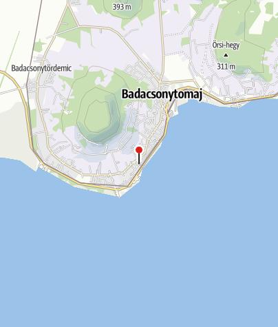 Karte / Tourinform Badacsony