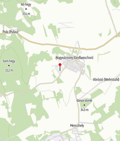 Map / Hétkanyar Vendégház