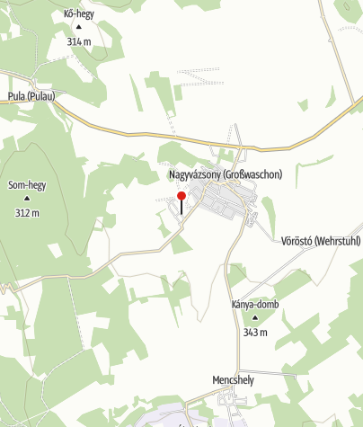 Mapa / Hétkanyar Vendégház