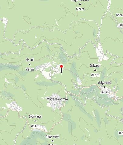 Map / Belle-Aire Hegyvidéki Tréning Központ és Panzió